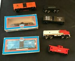 Various Model Train Pieces Model Power Cars Tracks Transformer And More