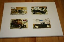 Very Rare First Edition Cover Stamps = Oldtimer Garage Decoration - Look Please