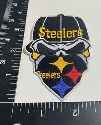 Rare Pittsburgh Steelers ☝️ Iron On Patch 🏈ps1