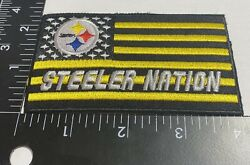Rare Pittsburgh Steelers ☝️ Iron On Patch 🏈ps1231