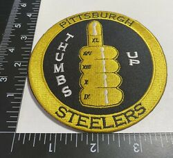 Rare Pittsburgh Steelers ☝️ Iron On Patch 🏈ps53