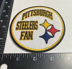 Rare Pittsburgh Steelers ☝️ Iron On Patch 🏈ps52