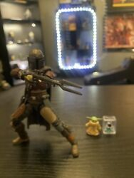 Star Wars Black Series The Mandalorian And The Child $35.00