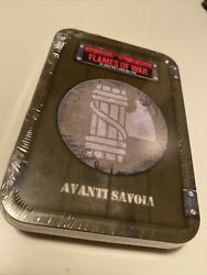 Sealed New Flames Of War Avanti Savoia Tokens And Dice Tin Td011