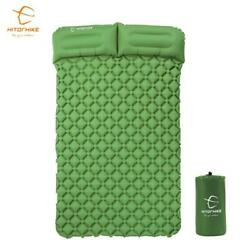 Innovative Sleeping Mat Fast Filling Inflatable Camping Air Bag Cushion W/pillow