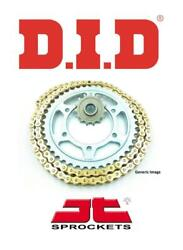 Yamaha Sr500 78-90 Did 530 Zvmx Gold X-ring Chain And Jt Sprocket Kit