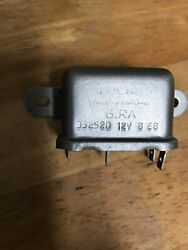 Rare Reconditioned 6ra Starter Relay 33252d Jaguar Sie 4.21968-69 Xke Dated 8/68