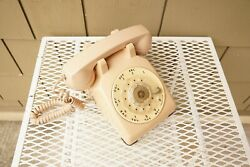 Vintage Western Electric Bell System Model 500 Rotary Phone Desk Telephone