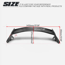 For Honda Civic Fk7 2017+ Hatchback Tr Style Abs Rear Trunk Spoiler Wing Lip