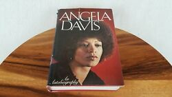 Angela Davis An Autobiography 1974 First Edition Hardcover Dust Jacket Nice Cond