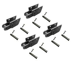 4 Trencher Repair Links W Pins, Fits Many Chain Trenchers With 3.067 Pitch