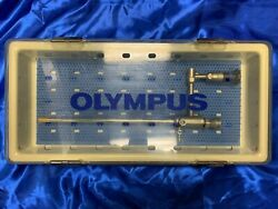 Olympus A52000a And A52011a 10.0 Mm 0anddeg 90anddeg Angle Operative Laparoscope Autoclave