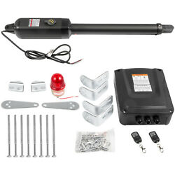 Automatic Arm Single Swing Gate Opener Gate Up To 838 Lb Dc Motor Remote Control