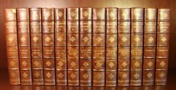 The Works Of James Russell Lowell C1899 Fine Leather Binding 13 Vol Set Poetry
