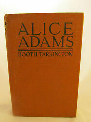 Booth Tarkington Signed Alice Adams 1921 First Edition First Issue Pulitzer Rare