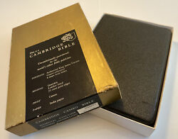 Holy Bible Cambridge Cameo Leather Boxed