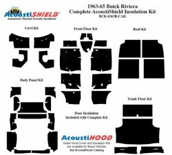 1963 - 1965 Buick Riviera Complete Acoustic Insulation Kit