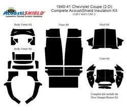 1940 1941 Chevrolet Coupe Complete Acoustic Insulation Kit