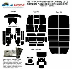 1953 - 1954 Chevrolet Sedan Delivery Complete Acoustic Insulation Kit