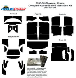 1956 Chevrolet Coupe Complete Acoustic Insulation Kit
