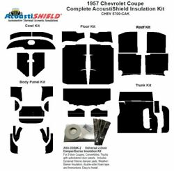 1957 Chevrolet Coupe Complete Acoustic Insulation Kit