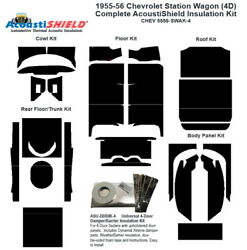 1956 Chevrolet Station Wagon Complete Acoustic Insulation Kit