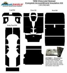 1958 Chevrolet Nomad Complete Acoustic Insulation Kit