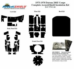 1975 - 1978 Datsun 280z Coupe Complete Acoustic Insulation Kit