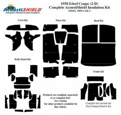 1958 Edsel Ranger Coupe Complete Acoustic Insulation Kit