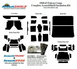 1960 - 1963 Falcon Coupe Complete Acoustic Insulation Kit