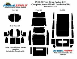 1930 1931 Ford Model A Town Sedan Complete Acoustic Insulation Kit