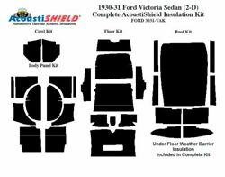 1930 1931 Ford Model A Victoria Complete Acoustic Insulation Kit