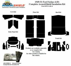 1949 - 1951 Ford Sedan Complete Acoustic Insulation Kit