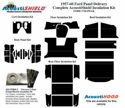 1957 - 1960 Ford Truck Panel Delivery Complete Acoustic Insulation Kit