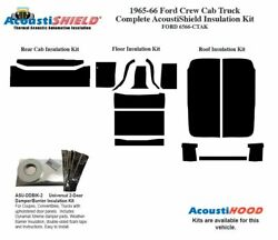 1965 1966 Ford Crew Cab Truck Complete Acoustic Insulation Kit