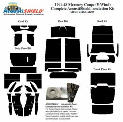 1941 - 1948 Mercury 5 Window Coupe Complete Acoustic Insulation Kit
