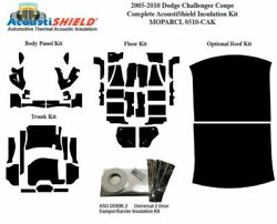 2005 - 2010 Dodge Charger Challenger Coupe Complete Acoustic Insulation Kit
