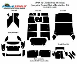 1949 - 1952 Oldsmobile 88 And 98 Sedan Complete Acoustic Insulation Kit