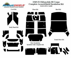 1949 - 1952 Oldsmobile 88 And 98 Coupe Complete Acoustic Insulation Kit