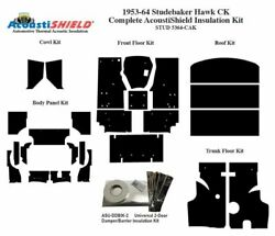1953 - 1964 Studebaker Hawk C And K Body Complete Acoustic Insulation Kit