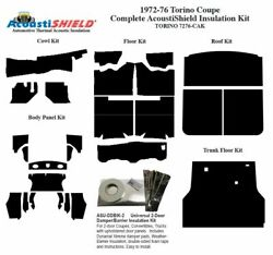 1972 - 1976 Torino Coupe Complete Acoustic Insulation Kit