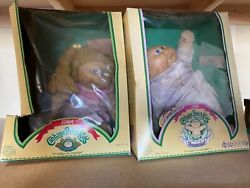 Cabbage Patch Kids Doll 1984 Girl And 1985 Preemie Original Package W/ Birthcert