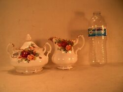 Vintage Royal Albert Bone China Dated 1962 Old Country Roses Pattern