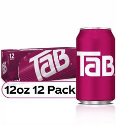 2-12 Pack Of Tab Soda Cola Brand New Unopened
