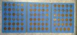 65 Coin Set 1909-1940 Lincoln Wheat Penny Cent - Early Dates Collection  343