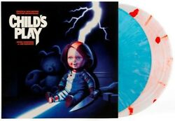 Childs Play Soundtrack Waxwork Fye Exclusive Colored Vinyl Record Chucky