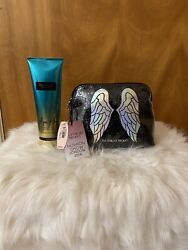 Victoria Secret Cosmetic Bag And Body Lotion Set Limited Edition $25.00