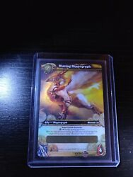 World Of Warcraft Blazing Hippogryph Unscratched Wow Tcg