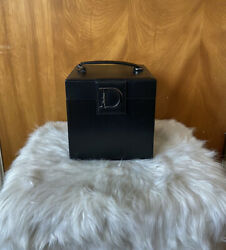 Dior Beauty Cosmetic Case Display Box Black Never Used Display Item Rare
