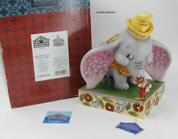 Disney Traditions Jim Shore Dumbo And Timothy Forever Together Rare Figurine